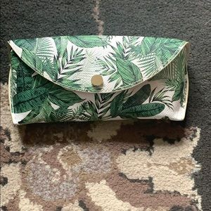 H&M pretty tropical sunglass case.